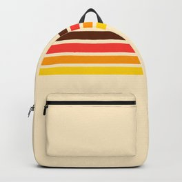 African Retro Stripes Backpack