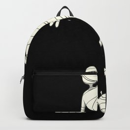Funny gift for pretty bandage after accident Backpack