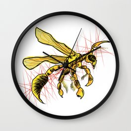 The Wasp Wall Clock