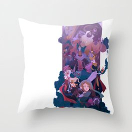 Boss Battle Throw Pillow