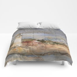 Menagerie Island Lighthouse Comforters