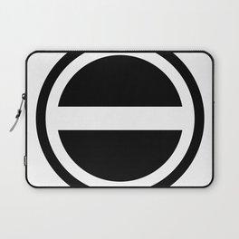Curtis Holt Logo (Black) Laptop Sleeve