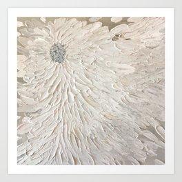 Petals in the Wind Art Print
