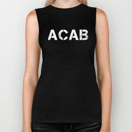 ACAB A.C.A.B. ALL COPS Gift T-Shirt Biker Tank