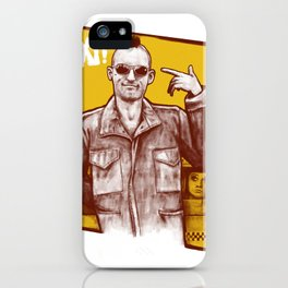 Taxi! iPhone Case