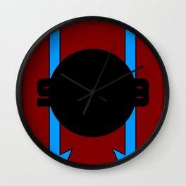 908 Racing Design Wall Clock