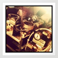Coffee Machinery  Art Print