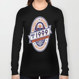 Made-In-1999-Birthday-T-Shirt-18th-Birthday-Gift-Idea Long Sleeve T-shirt
