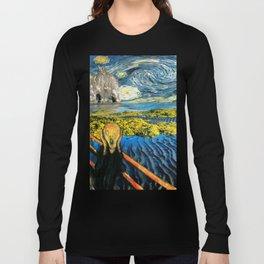 Edvard meets Vincent Long Sleeve T-shirt