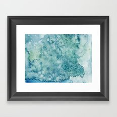 The Storm Within Framed Art Print