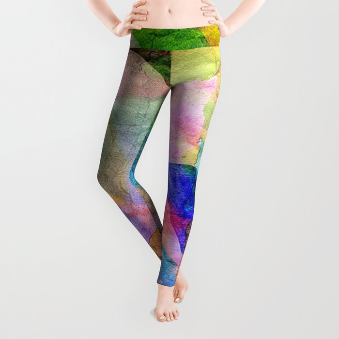 Abstract Texture 03 Leggings