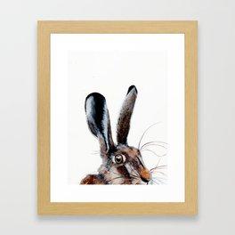 HELLO I HARE YOU! Framed Art Print