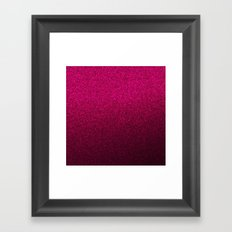 Pink Wall Colour Framed Art Print