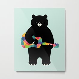 Happy Song Metal Print