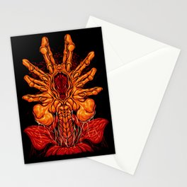 Face Hugger Stationery Cards