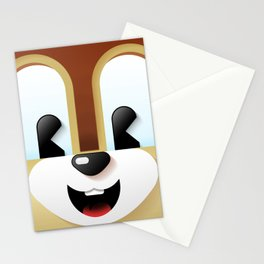 Chip cutie Stationery Cards