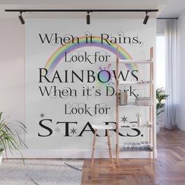 When it Rains... Wall Mural