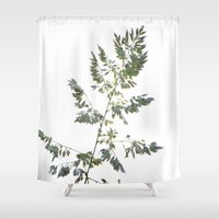 grace Shower Curtains featuring GRACE by Teresa Chipperfield Studios