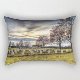 World War 2 War Graves Budapest Rectangular Pillow