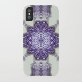 blue Hyacinthus N°2  ( pillow) iPhone Case