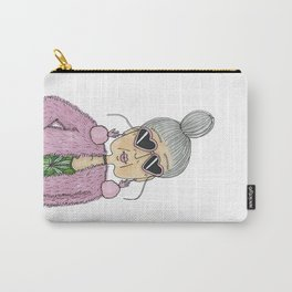 STYLISH GRANNY 4 Carry-All Pouch