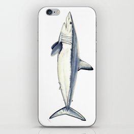 Mako shark (Isurus oxyrinchus) iPhone Skin