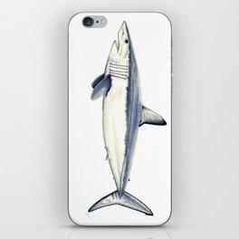 Mako shark (Isurus oxyrinchus) iPhone Skin