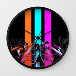 Rays of Light Wall Clock
