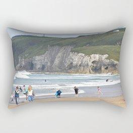 White Rock Beach Rectangular Pillow