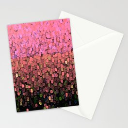 Sparkles and Glitter Pink Stationery Cards