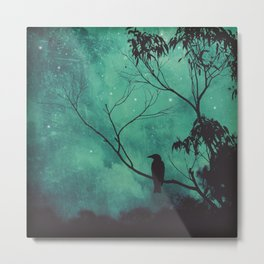 Evening Songbird Metal Print