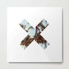 The XX Palm Trees Metal Print