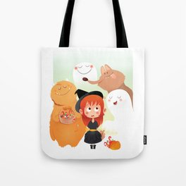 HALLOWEEN- trick ot treat? Tote Bag