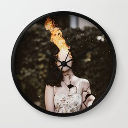 FIREHEAD Wall Clock