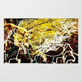 Chaos Tree - Light Painting Rug
