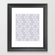 Moroccan Style Pink. Framed Art Print