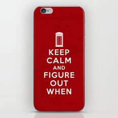 Keep Calm and Figure Out When iPhone & iPod Skin