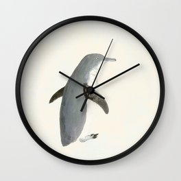 The Penguin waddle Wall Clock