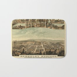 Berkeley Springs 1889 Bath Mat