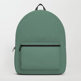 Inherent Dark Green Slate Solid Color Pairs To Sherwin Williams Grandview SW 6466 Backpack