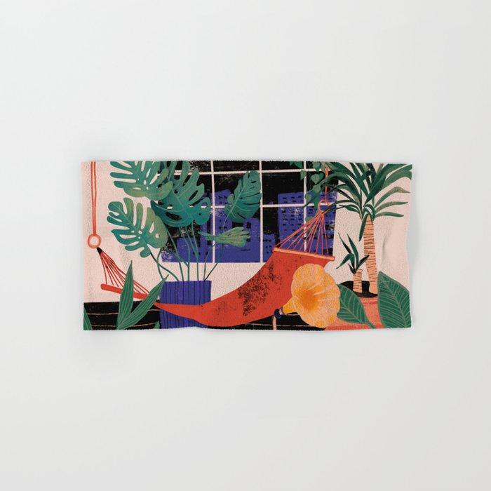 Urban jungle dream Hand & Bath Towel