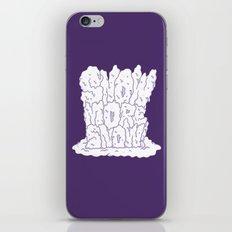 sNOw More Snow! iPhone & iPod Skin