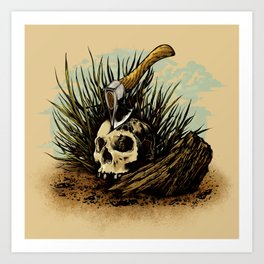 Prepare your hearts for Death's cold hand! Art Print