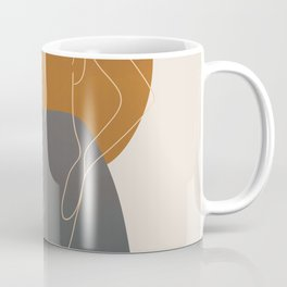Line Female Figure 82 Coffee Mug