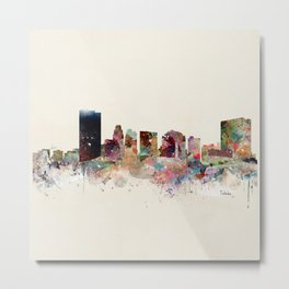 toledo ohio skyline Metal Print