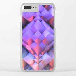 Dreaming in 3-D Clear iPhone Case