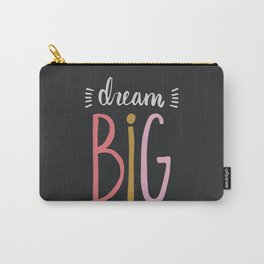 Dream Big // Pink Carry-All Pouch