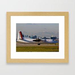 Fokker 50 Framed Art Print