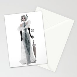 Duchesse Girl Stationery Cards