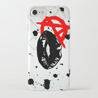 anarchy iPhone & iPod Cases featuring Anarchy by Mike Lampkin